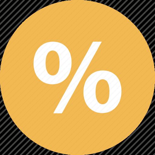 online, percentage, rate, revenue, shop, shopping icon