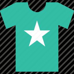 favorite, online, shirt, shop, shopping, star icon