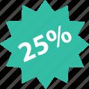 five, online, percent, shop, shopping, twenty icon