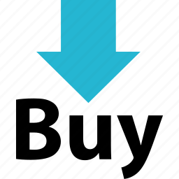 arrow, down, online, shop, shopping icon