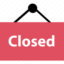 away, close, out, sign icon
