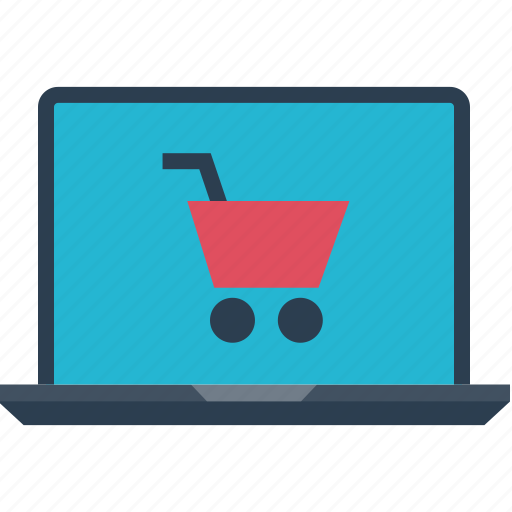 cart, computer, shopping, www icon