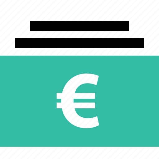 euro, online, shop, shopping, sign icon