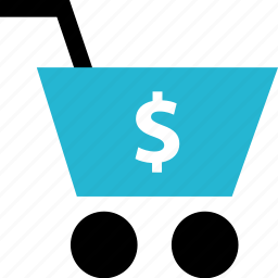 cart, dollar, online, shop, shopping icon