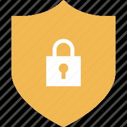lock, online, shield, shop, shopping icon
