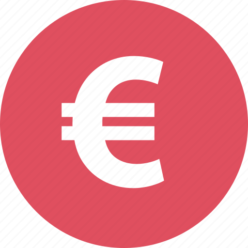 euro, online, pay, shop, shopping, sign icon
