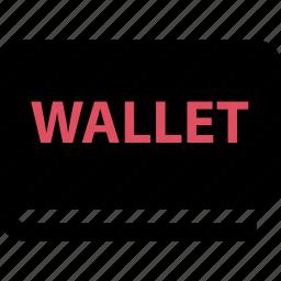 online, sales, shop, wallet icon