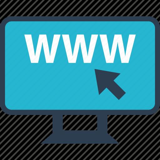 Arrow, online, web, www icon - Download on Iconfinder