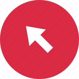 arrow, business, click, online, point, pointer icon