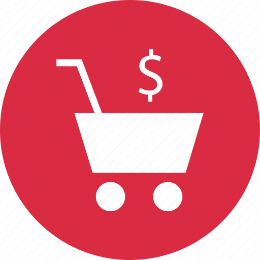 business, cart, dollar, online, shop, shopping icon
