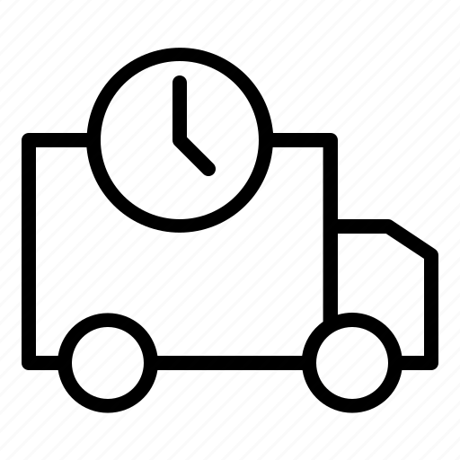 business, commerce, delivery, sale, technology, time, web icon