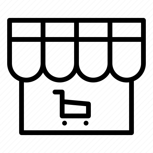 business, commerce, sale, technology, warehouse, web icon