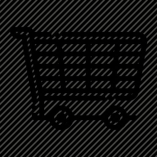 bag, basket, briefcase, cart, shop, shopping icon
