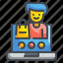 user, login, avatar, ui, lock, interface, profile