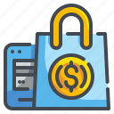 bag, buy, commerce, online, product, shop, shopping icon