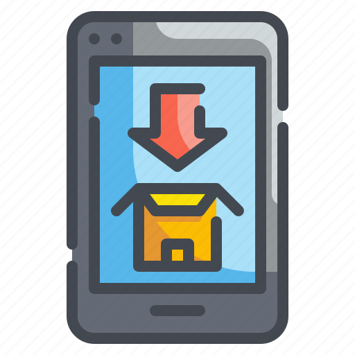 Cellphone, interface, mobile, smartphone, telephone, touch icon - Download on Iconfinder