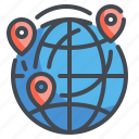 earth, geography, global, location, map, worldwide