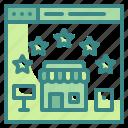 communication, popular, rating, seo, shopping, stars, website