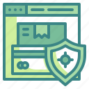check, lock, protect, quality, safe, security, shield icon