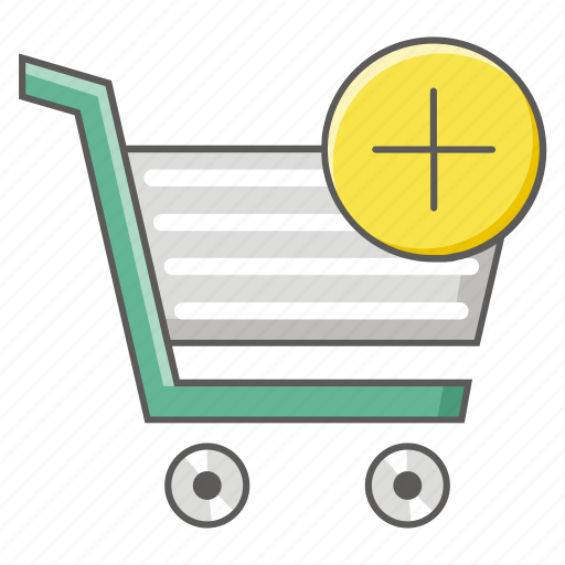 add, buy, cart, online, purchase, shopping icon