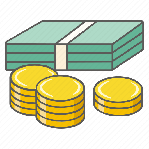 Balance, banknote, cash, coins, currency, dollars, money icon - Download on Iconfinder