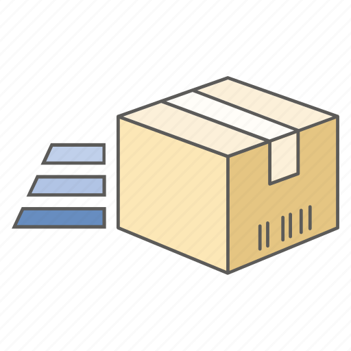 delivery, express, mail, post, purchase, send, service icon