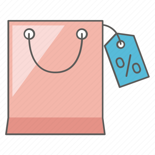bag, bargain, discount, market, reduced, sale, shopping icon