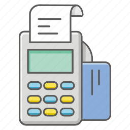 bill, card, credit, eftpos, payment, purchase, swipe icon