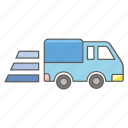 delivery, express, logistics, transport, transportation, truck icon