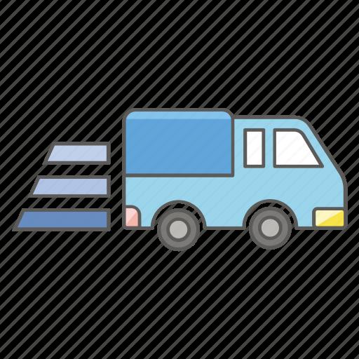 delivery, express, logistics, transport, transportation, truck icon