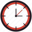 clock, deadline, time management icon