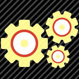 gear, maintenance, technical service icon