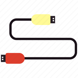 cable, connection, hub, usb icon