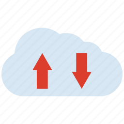 arrow, download, up, upload icon
