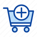 add, buy, cart, order icon, to