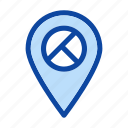 location, map, navigation, pin, place, point icon icon