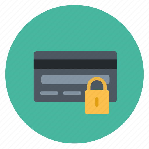 card, credit, payment, round, shopping icon