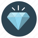 diamond, gem, jewelry, ruby icon