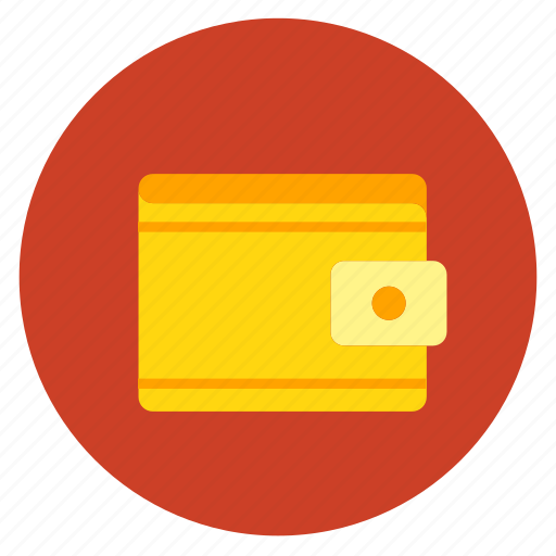 cash, flat design, purchase, shopping, wallet icon