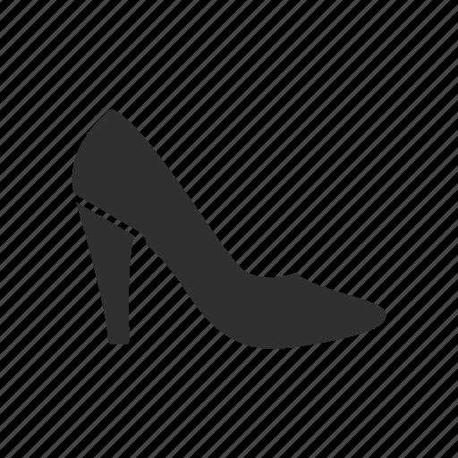 footwear, shoes, shopping, women icon