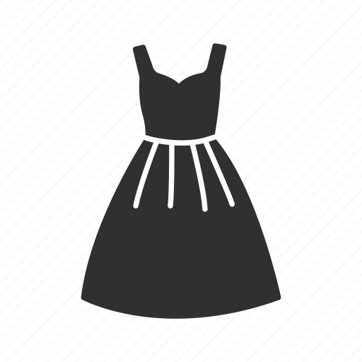 Gown, clothing, dress, clothes icon
