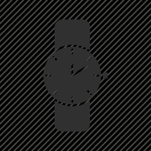analog watch, jewelry, time, wrist watch icon