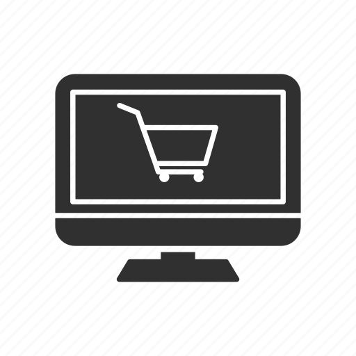 computer, online shopping, purchase, shopping icon