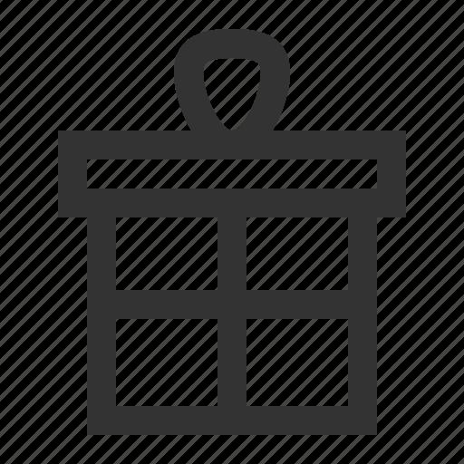 box, christmas, gift, giftset, present, xmas icon
