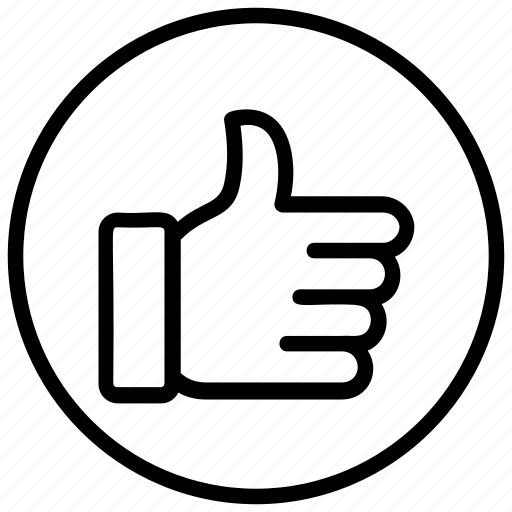 feedback, hand gesture, like, positive feedback, thumbs up icon