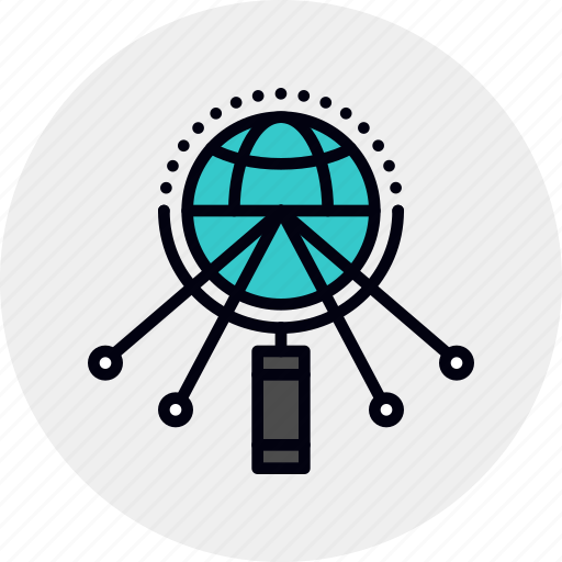 global, research, study icon