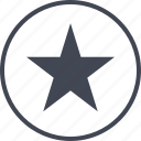 arrows, bookmark, special, star icon