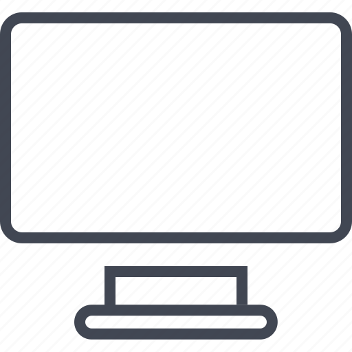 computer, connect, internet, monitor, online, screen, web icon