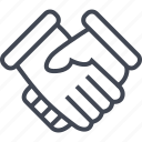 approved, deal, good, handshake icon