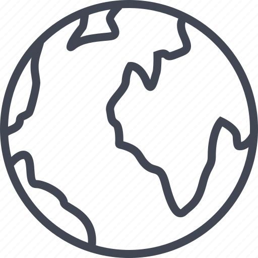 browser, earth, globe, internet, web icon